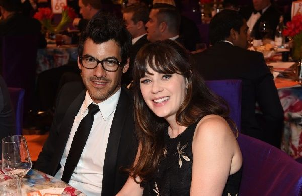 Zooey Deschanel with ex-husband Jacob Pechenik