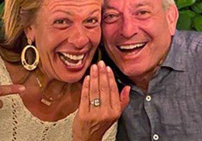 Hoda Kotb Engaged her Boyfriend from six-years, Joel Schiffman; Broke the news during the show