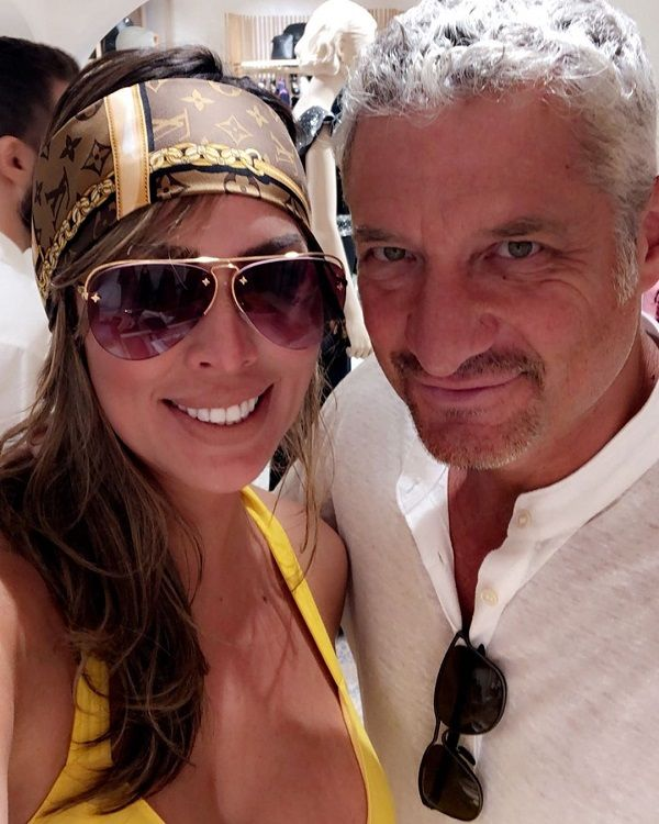 Kelly Dodd and Rick Leventhal
