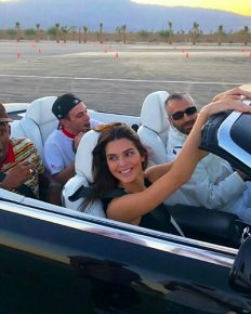 Kendall Jenner and her 24th birthday celebrations with car racing, birthday cake, and more….