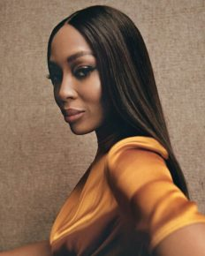 Supermodel Naomi Campbell talks about her career rivalry, Africa and her love for it, and working with young talent!