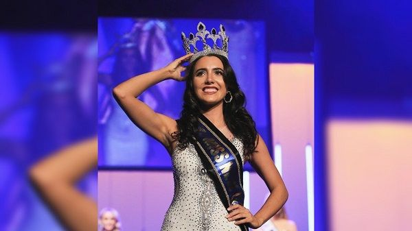Diamond Langi wore Miss New Zealand 2019