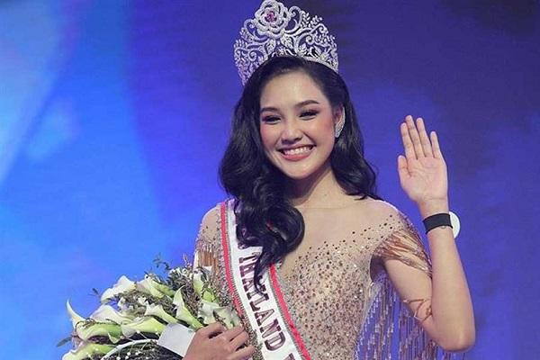 Miss Thailand 2019 Jennifer Paweensuda Saetan-Drouin