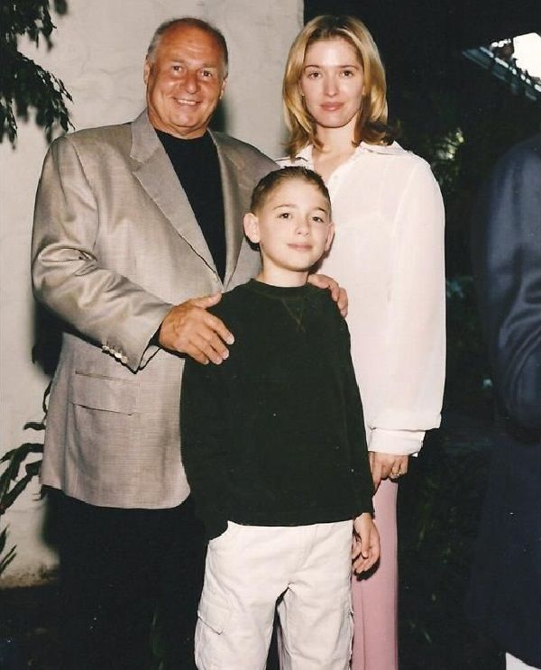 Tommy Zizzo and his mother Erika and step-father Thomas Girardi