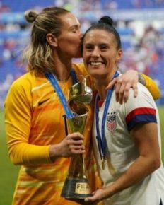 The wedding of lesbian soccer stars Ali Krieger and Ashlyn Harris! Complete details here!