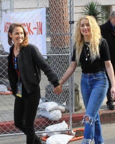 Amber Heard Steps Out With Her Girlfriend Bianca Butti Holding Hands; How Did Their Friendship Turned Into Dating!