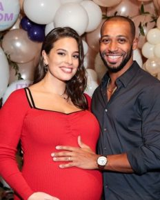 Ashley Graham And Her Husband Justin Ervin Welcomed Their First Child Together!