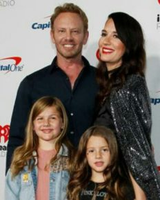 Blogger Erin Ziering talks about her relationship with ex-husband Ian Ziering and co-parenting her two daughters with him!