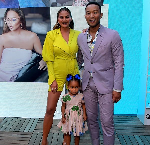 John Legend and his family
