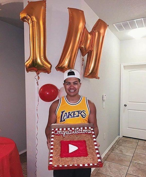 YouTuber Legit Tim has 1 million subscribers