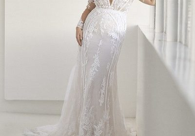 Model Ashley Graham collaborates with Pronovias brand for wedding dress collection of the plus-size!