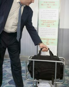 United Airlines-No more bag sizers on sides of gates!
