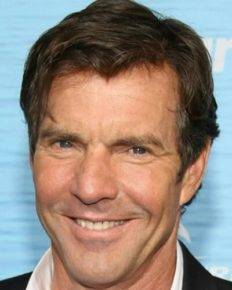 Dennis Quaid, 65 emerges from Tiffany and Co. holding a gift for his fiancee Laura Savoie, 26!
