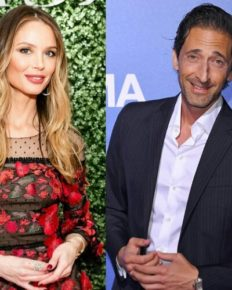 Georgina Chapman who divorced the disgraced Harvey Weinstein is dating Adrien Brody!