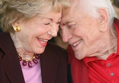 Kirk Douglas And His Wife Anne Buydens Celebrated Their 65th Marriage Anniversary Before Kirk Died At The Age Of 103!