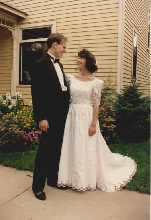 Amy Klobuchar and John Bessler wedding picture