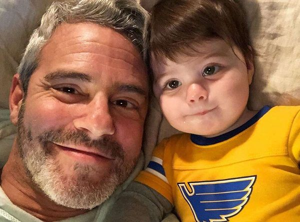 Andy Cohen and his son Benjamin Allen Cohen