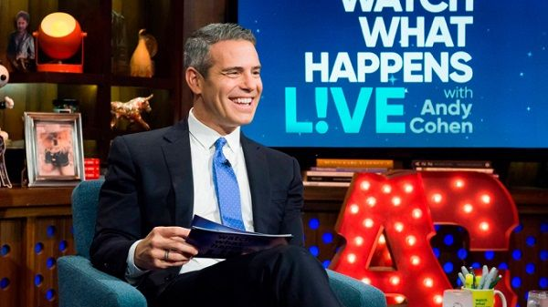 Andy Cohen hosts Watch What Happens Live with Andy Cohen
