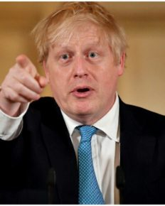 British premier Boris Johnson tests positive for coronavirus, has mild symptoms!