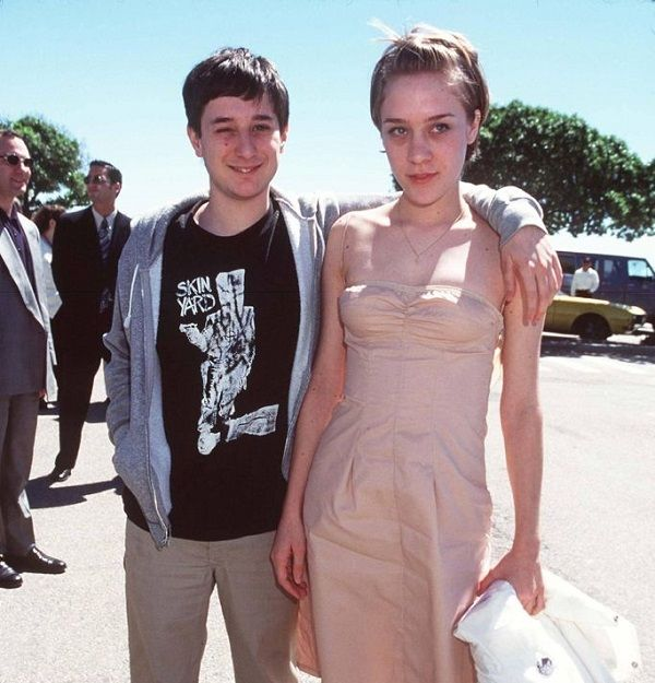 Chloe Sevigny with ex-boyfriend Harmony Korine