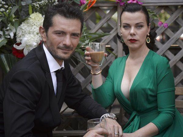 Debi Mazar and her husband Gabriele Corcos