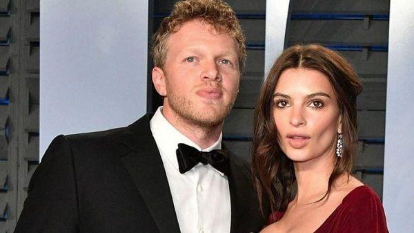 Emily Ratajkowski and her husband Sebastian Bear-McClard