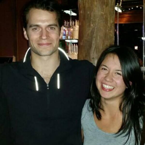 Henry Cavill and ex-girlfriend Marisa Gonzalo