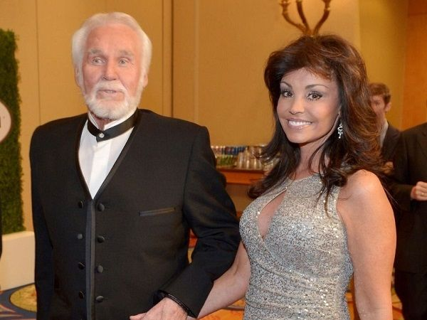 Kenny Rogers and his wife Wanda Miller
