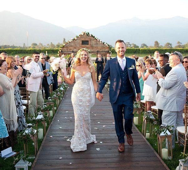 Laura Bell Bundy and Thom Hinkle wedding