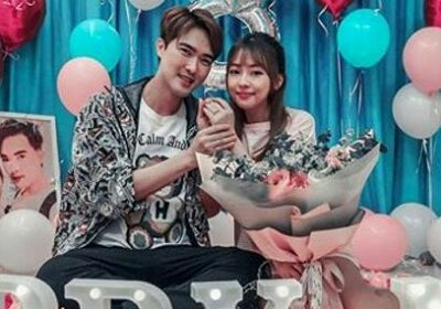 Lee Teng had an engagement with his Taiwanese girlfriend Miss Gina Lin!