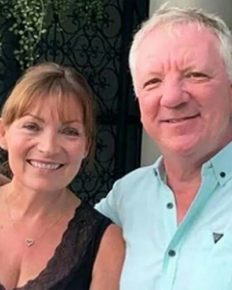 Lorraine Kelly praises and sympathizes with her husband Steve Smith!