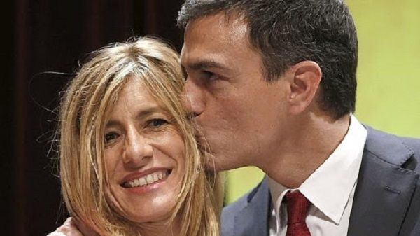 Maria Begona Gomez and Prime Minister husband Pedro Sanchez