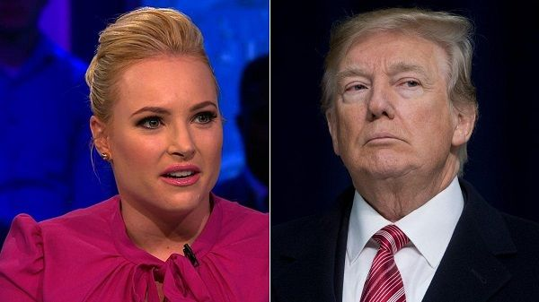 Meghan McCain unhappy with Donald Trump