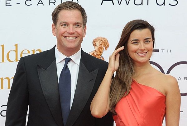 NCIS co-stars Michael Weatherly and Cote de Pablo
