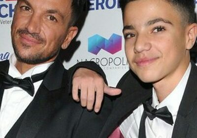 Peter Andre fails to understand the street talk of his son!
