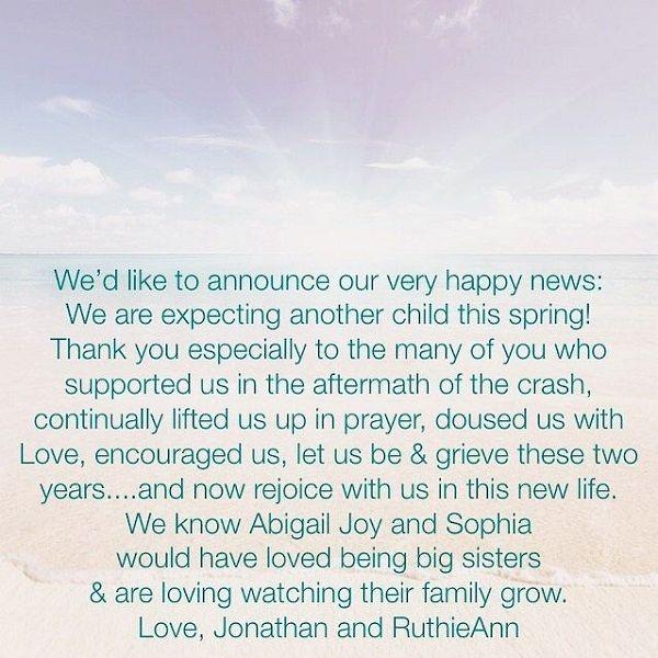 Ruthie Ann Miles shares her pregnancy news
