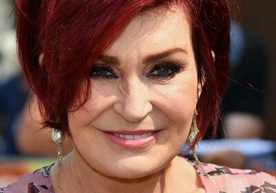 Sharon Osbourne shares a unique and sweet way of greeting instead of the traditional handshake!