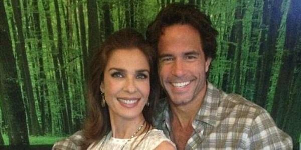 Simon Macauley and ex-wife Kristian Alfonso