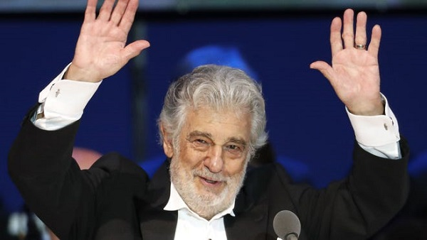 Spanish opera singer Placido Domingo tested positive for Coronavirus