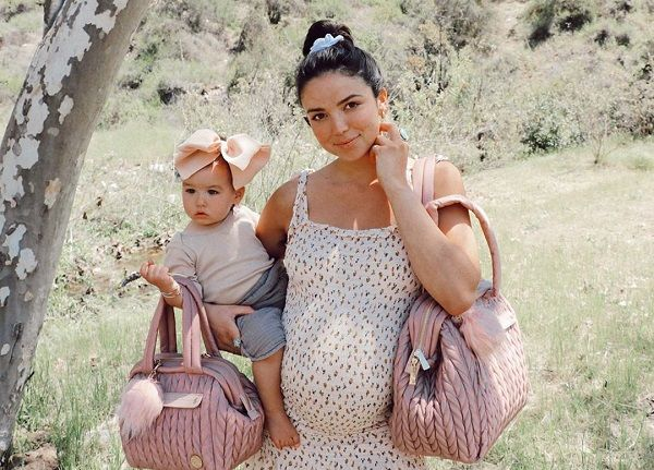 Bekah Martinez and her daughter