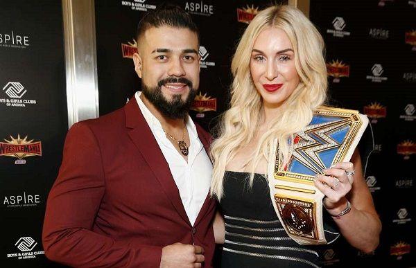 Charlotte Fair engaged to wrestler Manuel Andrade Oropeza