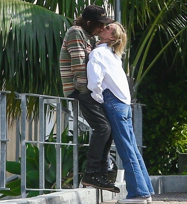 Diane Kruger and Norman Reedus packing on PDA while on break from self quarantine
