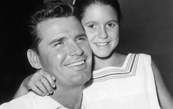 James Garner and his daughter