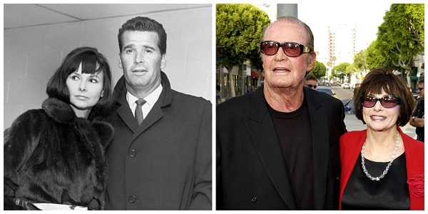 James Garner and his wife Lois Clarke