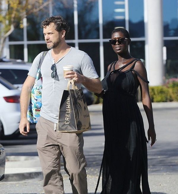 Jodie Turner Smith and husband Joshua Jackson