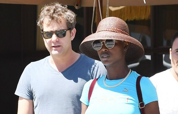 Jodie Turner Smith with husband Joshua Jackson