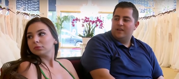 Jorge Nava and Anfisa Nava from 90 Days Fiance goes wedding dress shopping