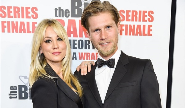 Kaley Cuoco and husband Karl Cook