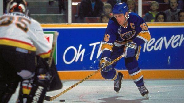 NHL player Brett Hull