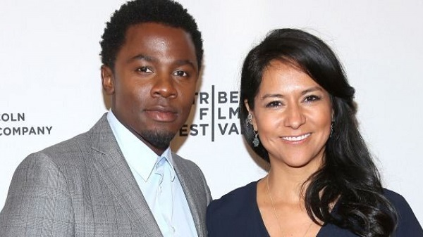 Sophia Adella Luke and husband Derek Luke